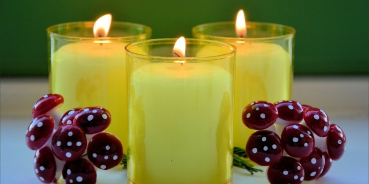 yellow candles fire flame magic spell ritual pagan