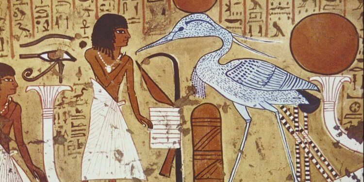 Mythical Creature Bennu Egypt
