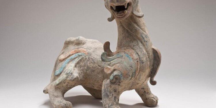 pixiu bixie myth creature winged lion