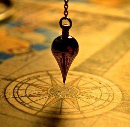 Pendulum dowsing divining tool ritual magic spell pagan spiritual
