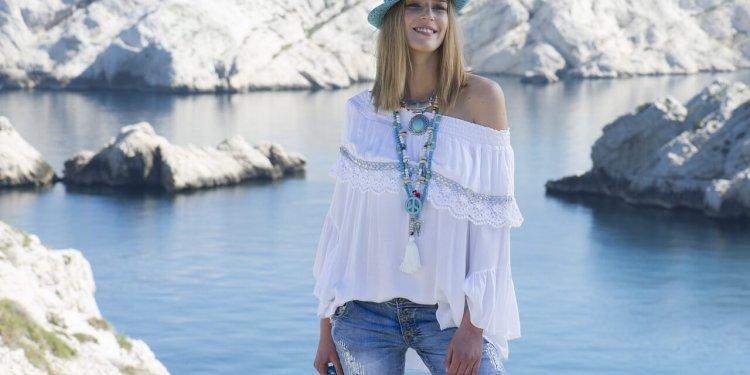 woman female clothing happy boho hat jewelry