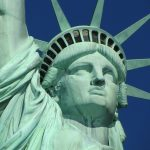 lady liberty woman america statue